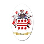 Mosca 35x21 Oval Wall Decal