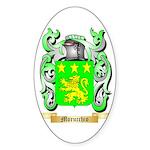 Morucchio Sticker (Oval)