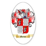 Morton Sticker (Oval 50 pk)