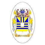 Mortimore Sticker (Oval 50 pk)