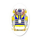 Mortimer Oval Car Magnet