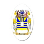 Mortimer 35x21 Oval Wall Decal
