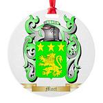 Mort Round Ornament