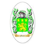 Mort Sticker (Oval 50 pk)