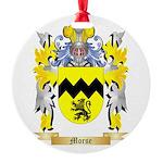 Morse Round Ornament