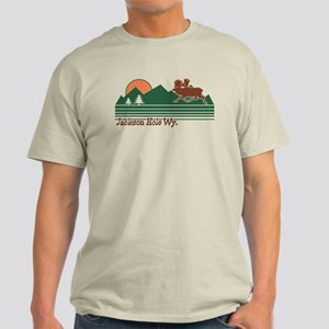 Jackson Hole Wyoming Light T-Shirt