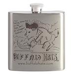Pirate Buffy Flask