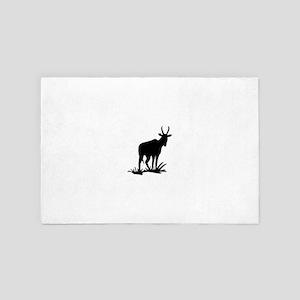 Antelope Silhouette 4' x 6' Rug