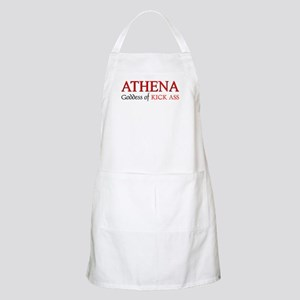 """Athena: Goddess of KICK ASS"" BBQ Apron"