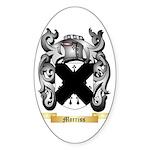 Morriss Sticker (Oval 50 pk)
