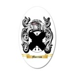 Morriss 20x12 Oval Wall Decal