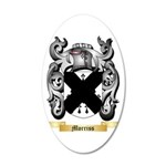 Morriss 35x21 Oval Wall Decal