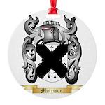 Morrison Round Ornament