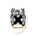 Morrison 20x12 Oval Wall Decal
