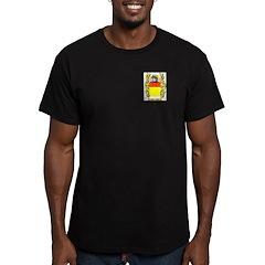 Morrison 2 Men's Fitted T-Shirt (dark)