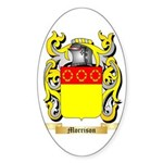 Morrison 2 Sticker (Oval 10 pk)