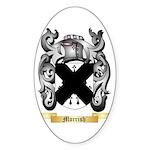 Morrish Sticker (Oval)