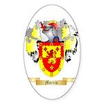 Morris (England) Sticker (Oval 10 pk)