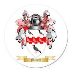 Morrill Round Car Magnet