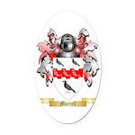 Morrell Oval Car Magnet