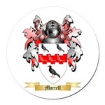 Morrell Round Car Magnet