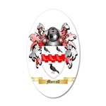 Morrall 35x21 Oval Wall Decal