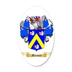 Moroney Oval Car Magnet