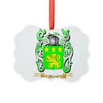 Moron Picture Ornament