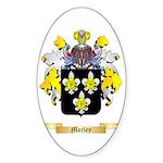 Morley Sticker (Oval 50 pk)