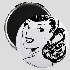 Vintage Girl Magnets