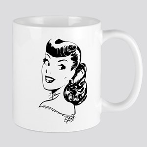 Vintage Girl Mugs