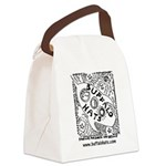 Rocketship Buffy Canvas Lunch Bag
