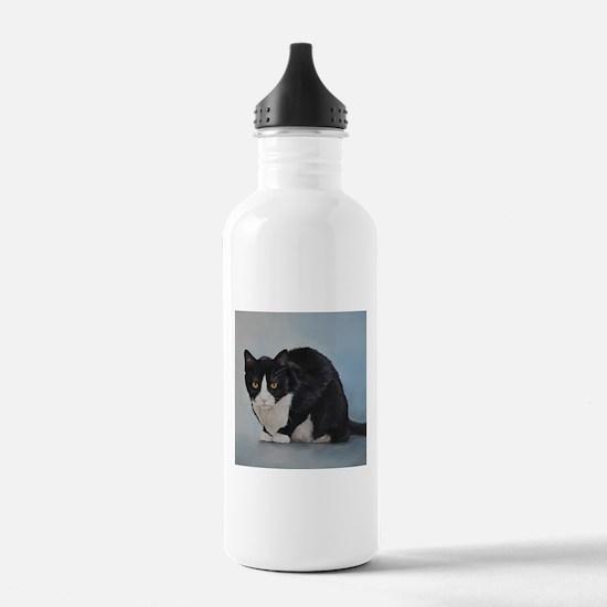 Cute Tuxedo cats Water Bottle