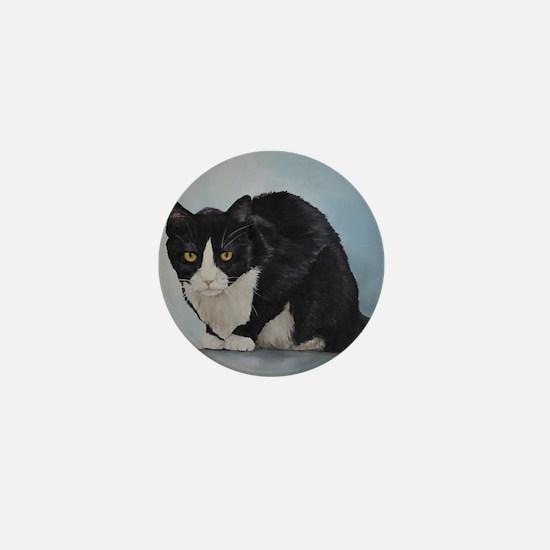 Unique Kitty art Mini Button