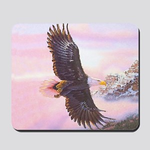 Eagles in Mist Mousepad