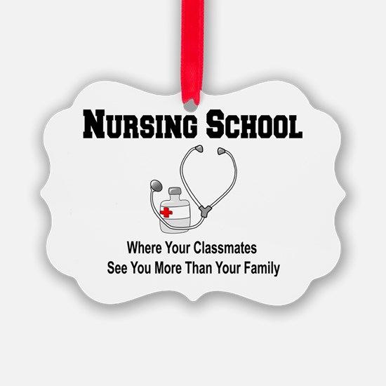 Cute Nurse student Ornament