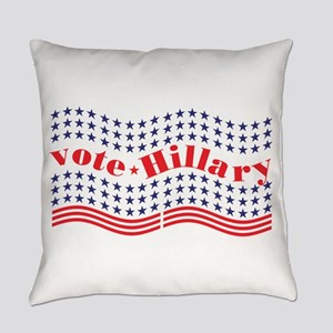 vote hillary Everyday Pillow