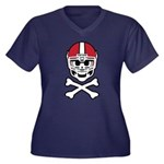 Lil' Spike C Women's Plus Size V-Neck Dark T-Shirt