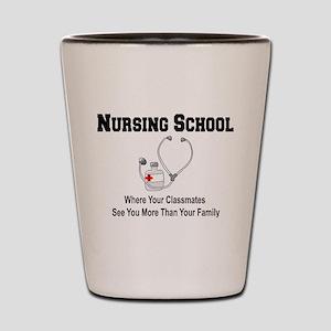 Nursing Schoool Shot Glass