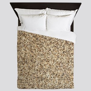 GRANITE BROWN 3 Queen Duvet