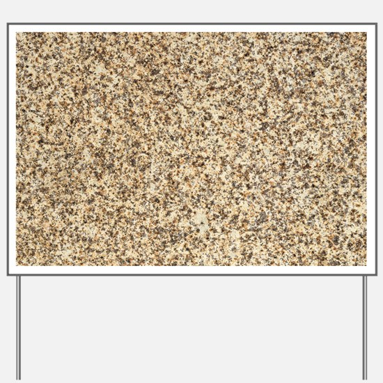 GRANITE BROWN 3 Yard Sign