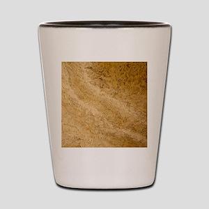 GRANITE BROWN 2 Shot Glass