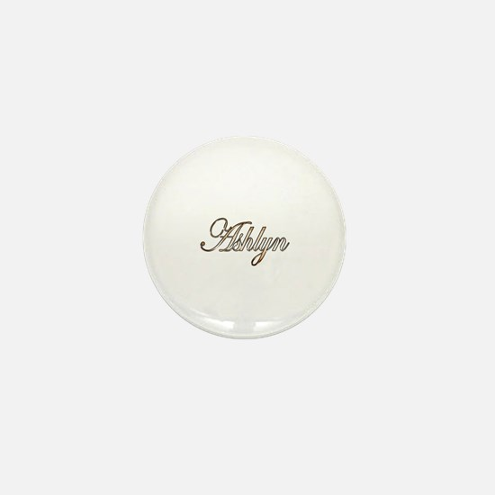 Cute Ashlyn Mini Button