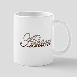 Gold Ashton Mugs
