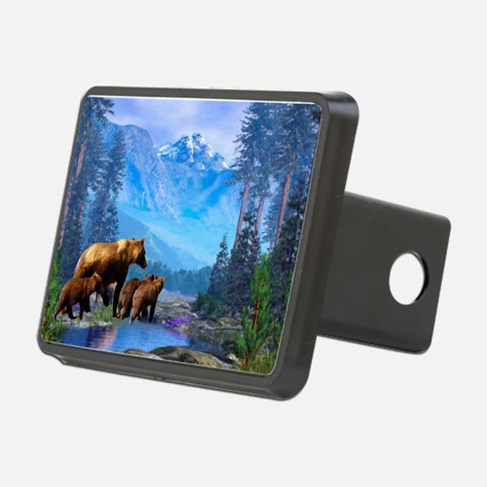 Mountain Grizzly Bears Hitch Cover