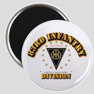83rd Infantry Division - Thunderbolt Magnet