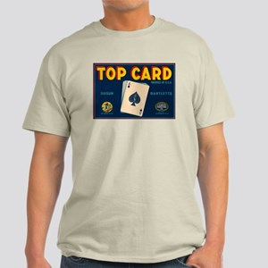 Top Card Vintage Crate Label Light T-Shirt