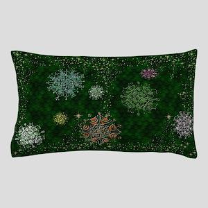 Harvest Moons Mod Snowflakes Pillow Case