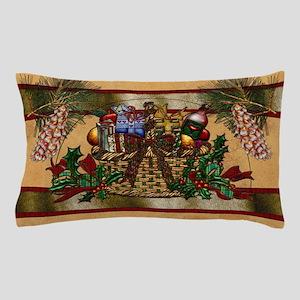 Harvest Moons Christmas Basket Pillow Case