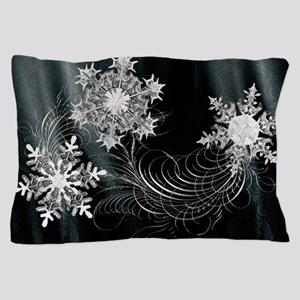 Harvest Moons Crystal Flakes Pillow Case